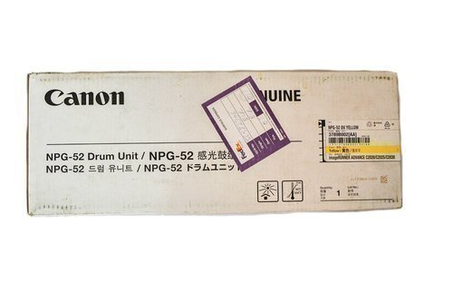 Canon NPG 52 Yellow Drum Unit