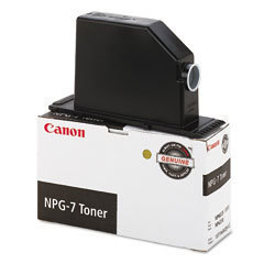 Canon NPG 7 Toner Cartridge, Black