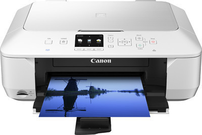Canon MG6470 White All in One ink Printer