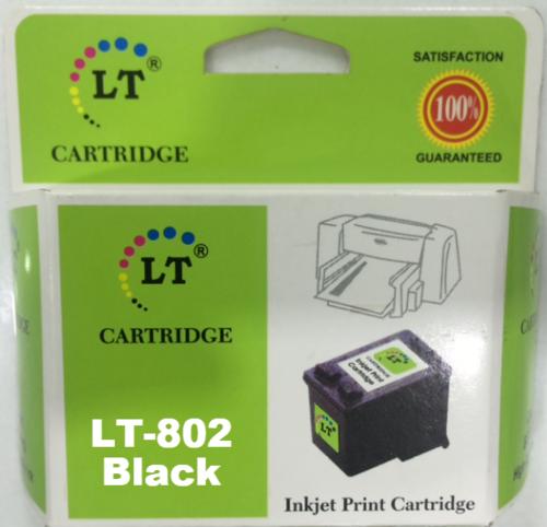 LT 802 Ink Cartridge, Black