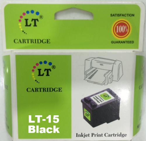 LT C6615DA 15D Ink Cartridge, Black