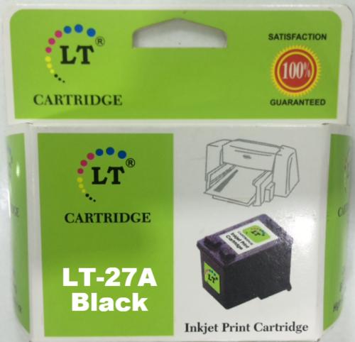 LT 27A Ink Cartridge, Black, C8727AA