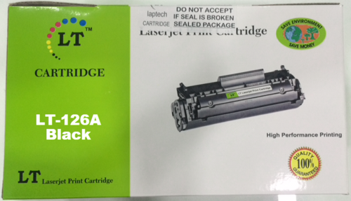 LT 126A Toner Cartridge, Black, CE310A