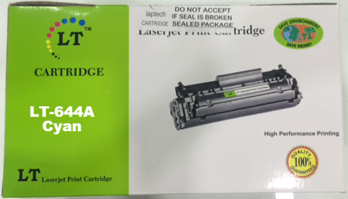 LT 644A Cyan Toner Cartridge, Q6461A