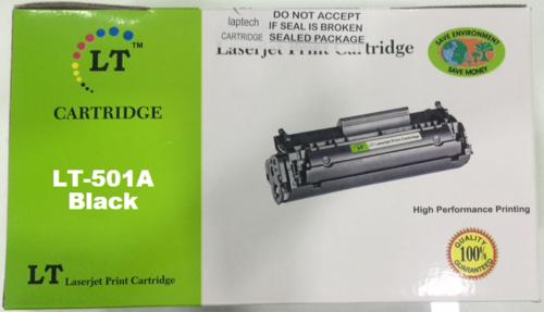 LT 501A Toner Cartridge, Black, Q6470A