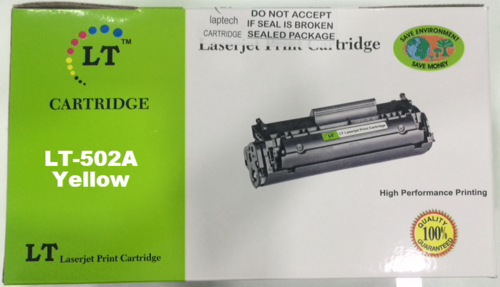 LT 502A Yellow Toner Cartridge, Q6472A