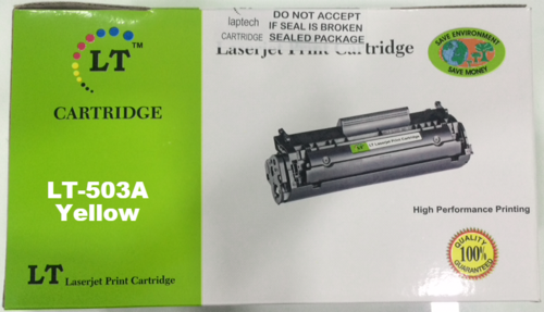LT Q7582A 503A Yellow Toner Cartridge