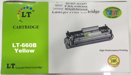 LT Y660B / XIP Yellow Toner Cartridge