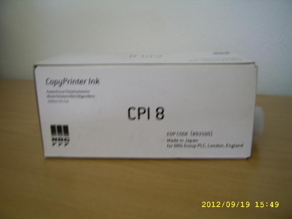 for Gestetner CPI-8 Black Copy Printer ink