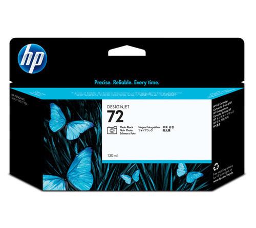 HP 72 Ink Cartridge, Photo Black, 130ml