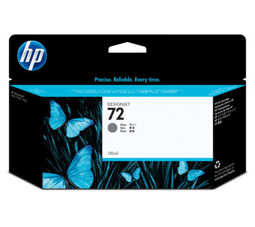 HP 72 Ink Cartridge, Gray, 130ml