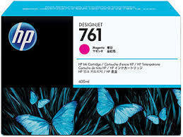 HP 761 Ink Cartridge, Magenta 400ml, CM993A