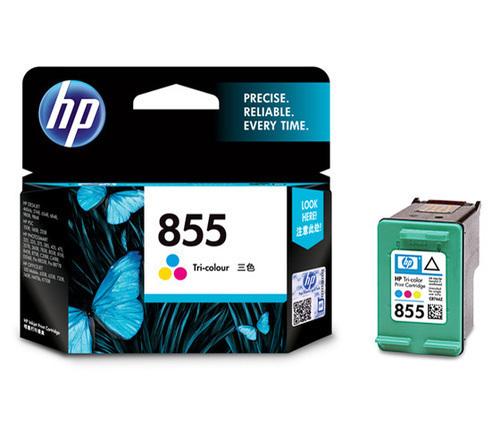 HP 855 Ink Cartridge, Tri Color