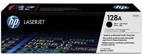 HP CE320A 128A Toner Cartridge, Black