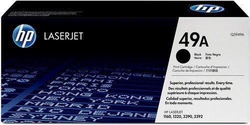 HP Q5949A 49A Toner Cartridge, Black