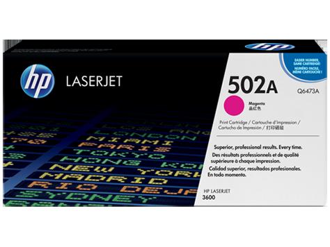 HP Q6473A 502A Magenta Toner Cartridge