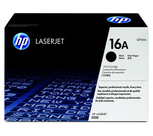 HP 16A Toner Cartridge, Black