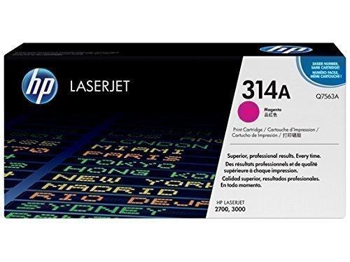 HP Q7563A 314A Magenta Toner Cartridge