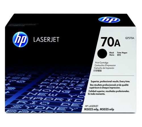 HP 70A Toner Cartridge, Black