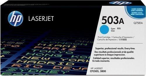 HP Q7581A 503A Cyan Toner Cartridge