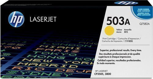 HP Q7582A 503A Yellow Toner Cartridge
