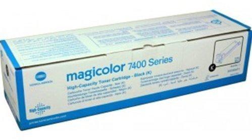 Konica Minolta 7400 MagiColor Toner Cartridge, Black
