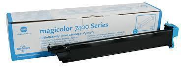 Konica Minolta 7400 MagiColor Cyan Toner Cartridge