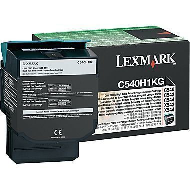 Lexmark C540A1KG Toner Cartridge, Black