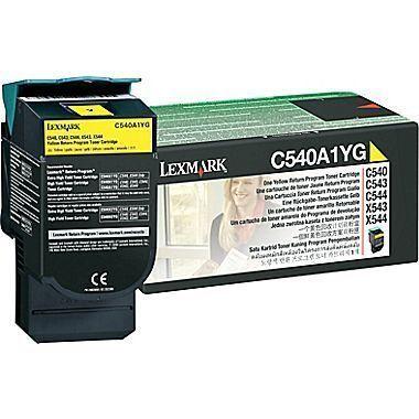 Lexmark C540A1YG Yellow Toner Cartridge