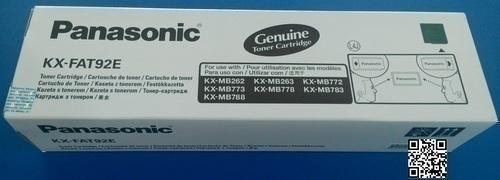 Panasonic KX FAT-92E Toner Cartridge, Black