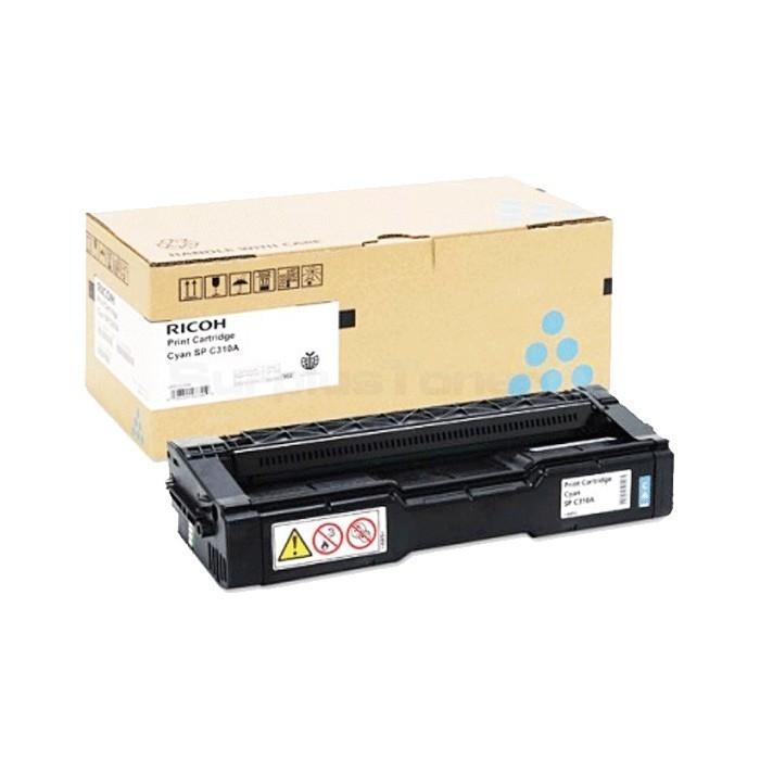 Ricoh Aficio 406484 Cyan Laser Toner Cartridge