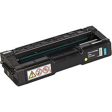 Ricoh SP C220 / C221 / C222 / C240, 406047, Cyan Toner Cartridge