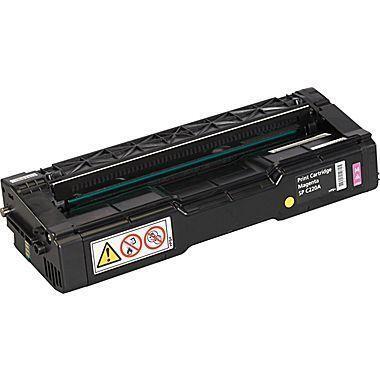 Ricoh SP C220 / C221 / C222 / C240, 406048, Magenta Toner Cartridge