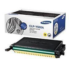Samsung CLP-Y660A / XIP Yellow Toner Cartridge