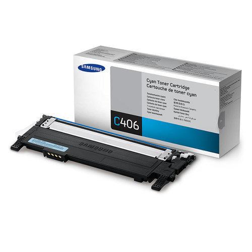 Samsung CLT-C406S / XIP Cyan Toner Cartridge