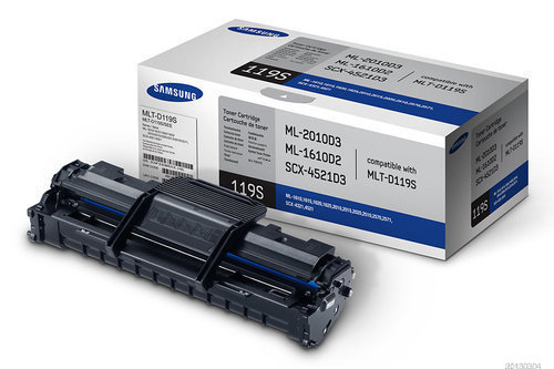 Samsung MLT-D119S / XIP Toner Cartridge, Black