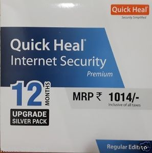 Upgrade Pack, 1pc, 1year, Quick Heal Internet Security