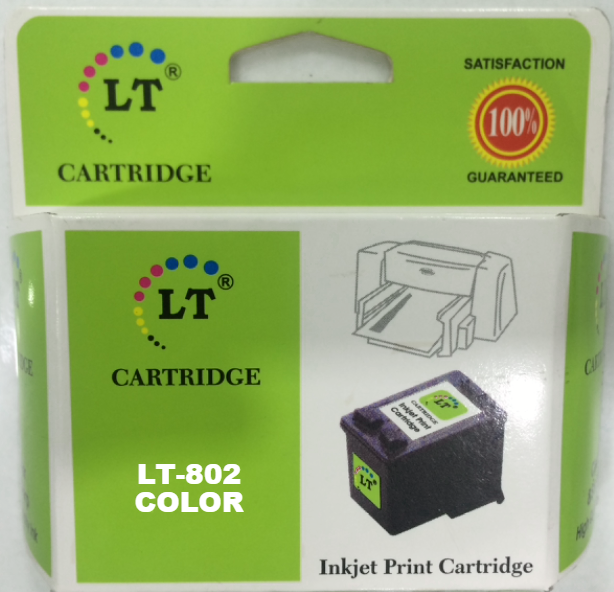 LT 802 Large Ink Cartridge, Tri Color
