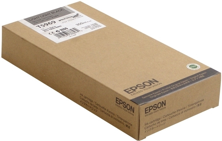 Epson T5969 Ink Cartridge, Light Black, 350ml