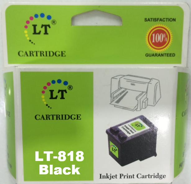 LT 818 Ink Cartridge, Black