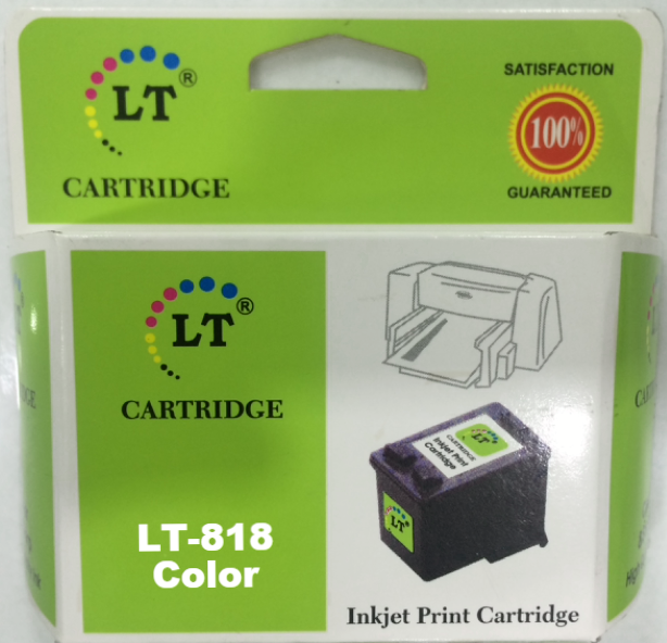 LT 818 Ink Cartridge, Tri Color