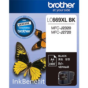 Brother LC669XL Ink Cartridge, Black