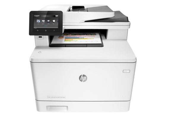 HP M477dw Color All In One Laser Printer