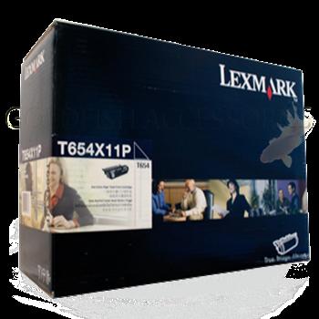 Lexmark T654X11P High Yield Toner Cartridge, Black