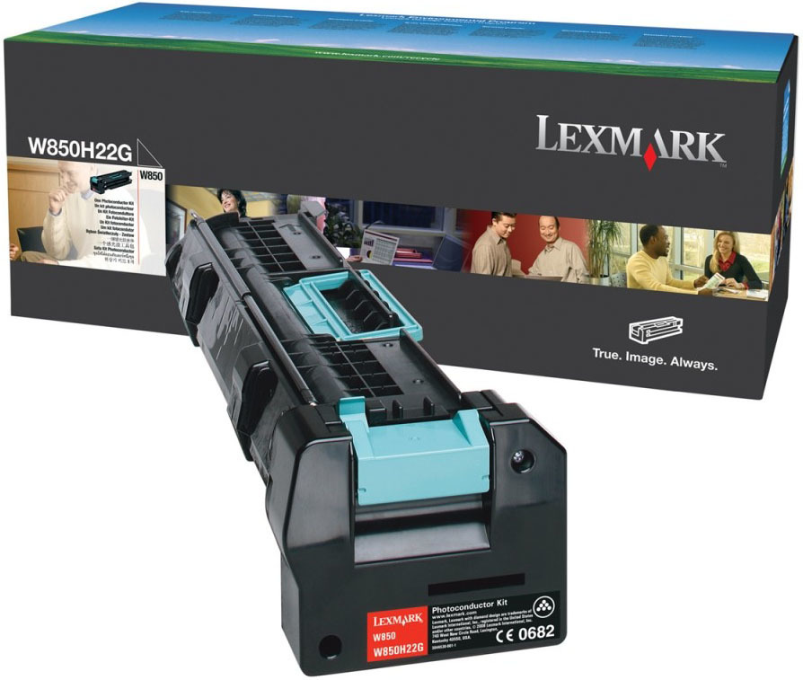 Lexmark W850H22G Black Photoconductor Kit Drum Unit
