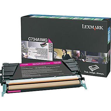 Lexmark C734A1MG Magenta Toner Cartridged