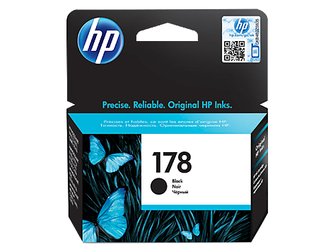 HP 178 Ink Cartridge, Black