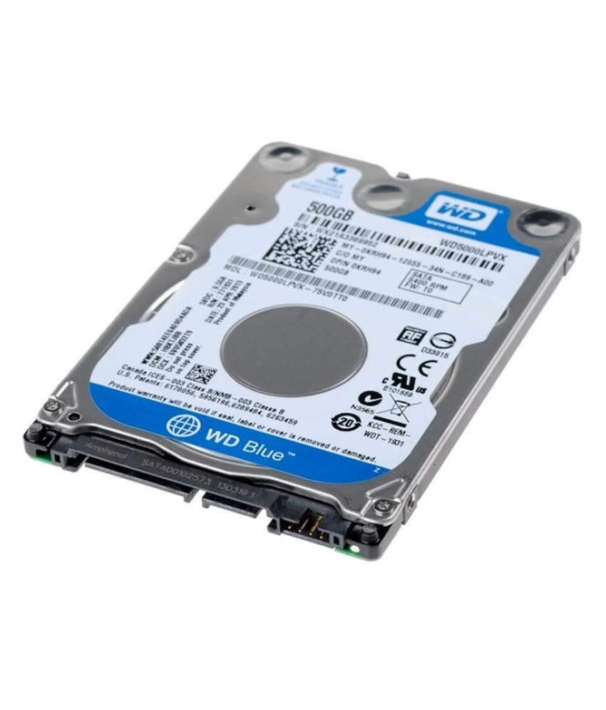 WD 500GB Laptop Sata Internal Hard Drive