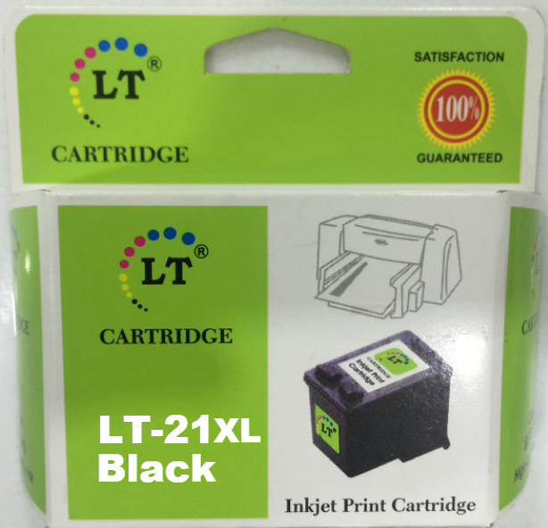LT 21A XL Ink Cartridge, Black, C9351AL