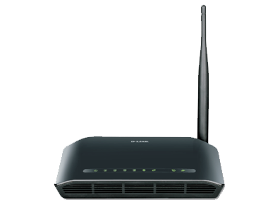D-Link DSL-2730U Wireless Router, N150 ADSL2+ 4-Port